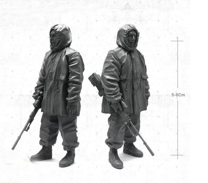 1/35 современный армии США Снайпер военнослужащего Смола Модель Рисунок YOY-04