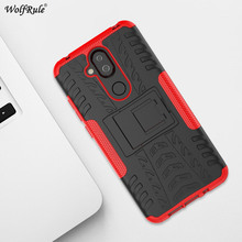 For Cover Nokia 8.1 Case TPU & PC Holder Armor Bumper Protective Phone Case For Nokia 8.1 Cover For Nokia X7 2018 6.18'' стоимость