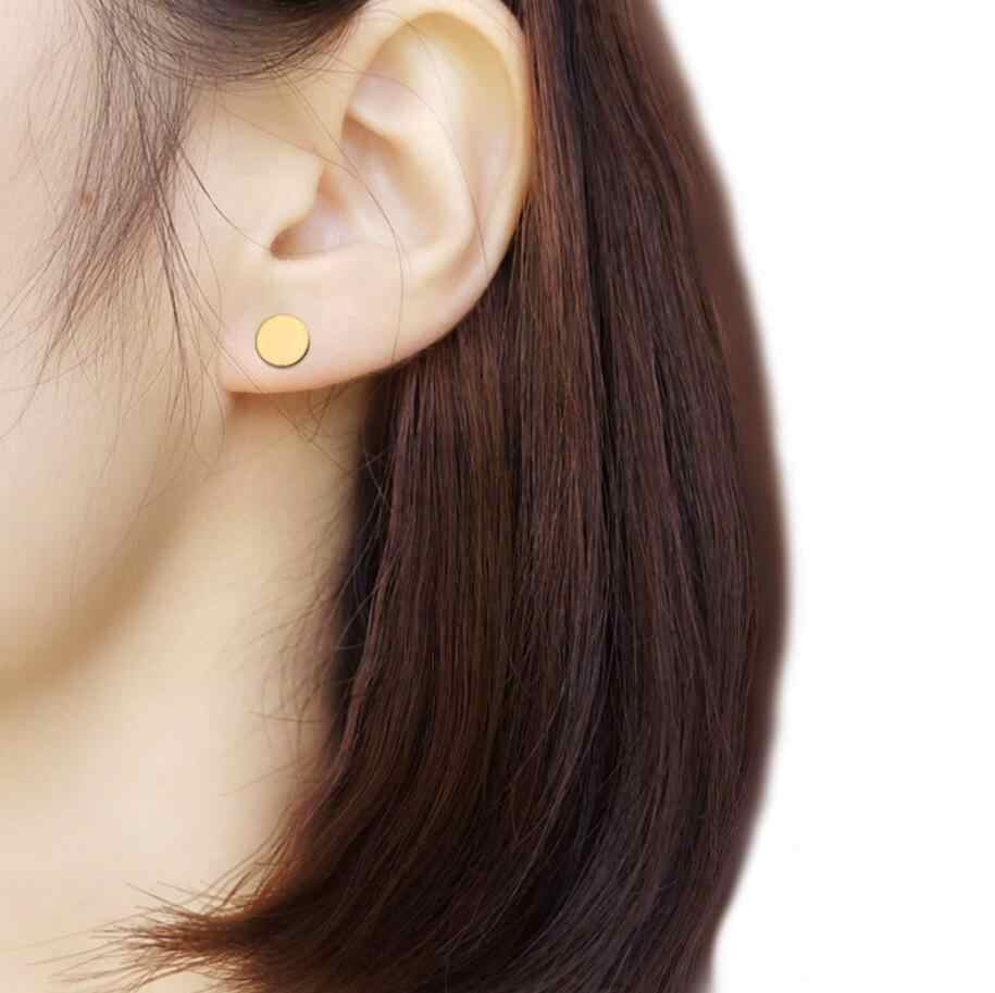 Jisensp น่ารักขนาดเล็กต่างหู Bijoux ผู้หญิงเรขาคณิตเครื่องประดับของขวัญเกาหลีต่างหู Brincos Pendiente