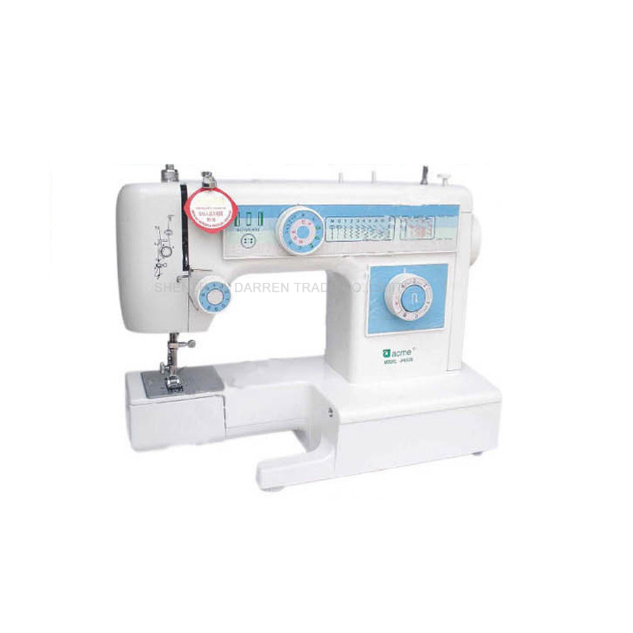1PC JH653 Origian Chinese Famous Brand ACME Household Sewing Machine Multifunctional Sewing Machine 220V1PC JH653 Origian Chinese Famous Brand ACME Household Sewing Machine Multifunctional Sewing Machine 220V