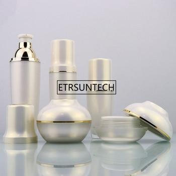 30g 50g Acrylic Cream Jar Empty Cosmetic Container Jar 30ml 60ml 100ml Lotion Pump Bottle F1593