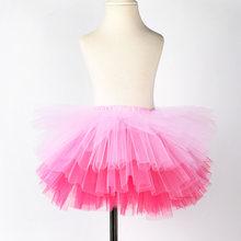 ca9646805f857 Mode Filles Tutu Super Moelleux 6 Couches jupon Princesse Ballet Danse Tutu  Jupe Enfants Gâteau Jupe