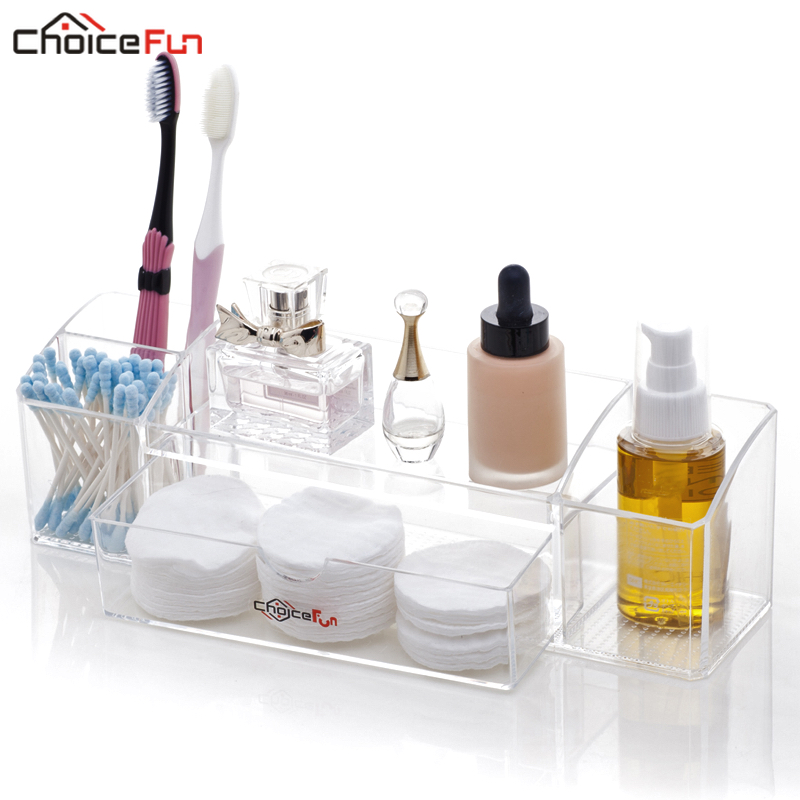 Makeup-Organizer Storage Cotton-Pad Cosmetic Organizador-De-Maquiagem Desktop Rectangle