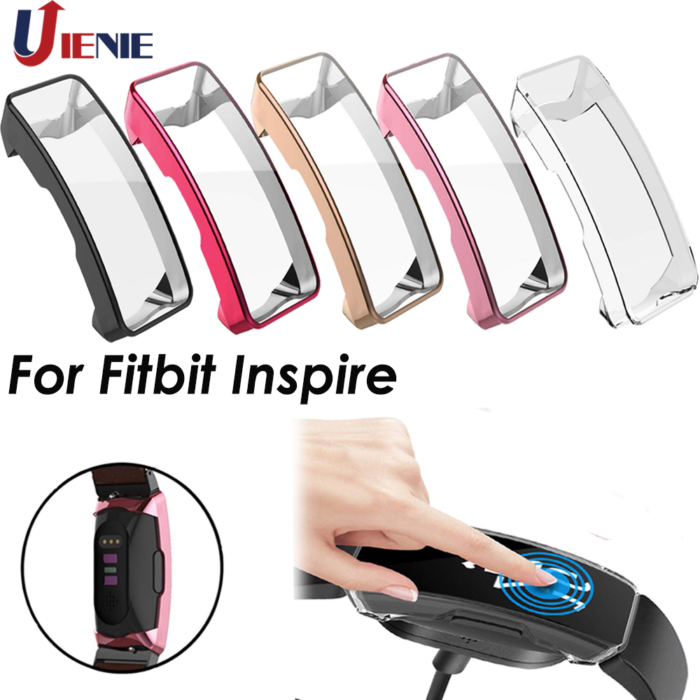 TPU Protective Case Shell Cover For Fitbit Inspire Smart Watch Bracelet Replacement Protector For Inspire HR Watch Accessories