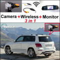 Special WiFi Camera + Wireless Receiver + Mirror Monitor Backup Parking System For Mercedes Benz GLK Class MB X204 2008~2015