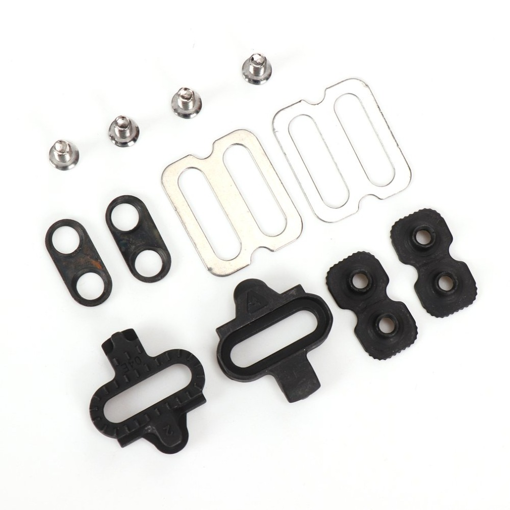 Bicycle Accessories Bike Cleats Set For  MTB SPD Pedals PD-M520 M540 M324 M545 M424 M647 M959 Bicycle Replacement
