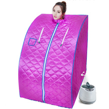 Home Sauna Steam Box Skin SPA 2000W 4L EU Plug Portable Tent Steamer Weight Loss  Health Care Shower Generator