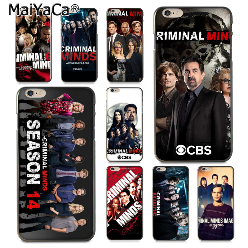 MaiYaCa Criminal Minds Newest Super soft Phone Cases for