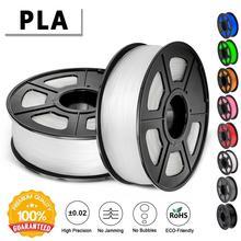 Нить для 3D-принтера PLA 1,75 мм 2,2 фунтов 1 кг катушка новая Быстрая доставка Новый 3d печатный материал для 3D-принтера s и 3D ручек
