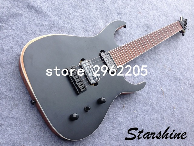 Starhine 7 string electric guitar mahogany body  rosewood fingerboard good quality Free shipping  5