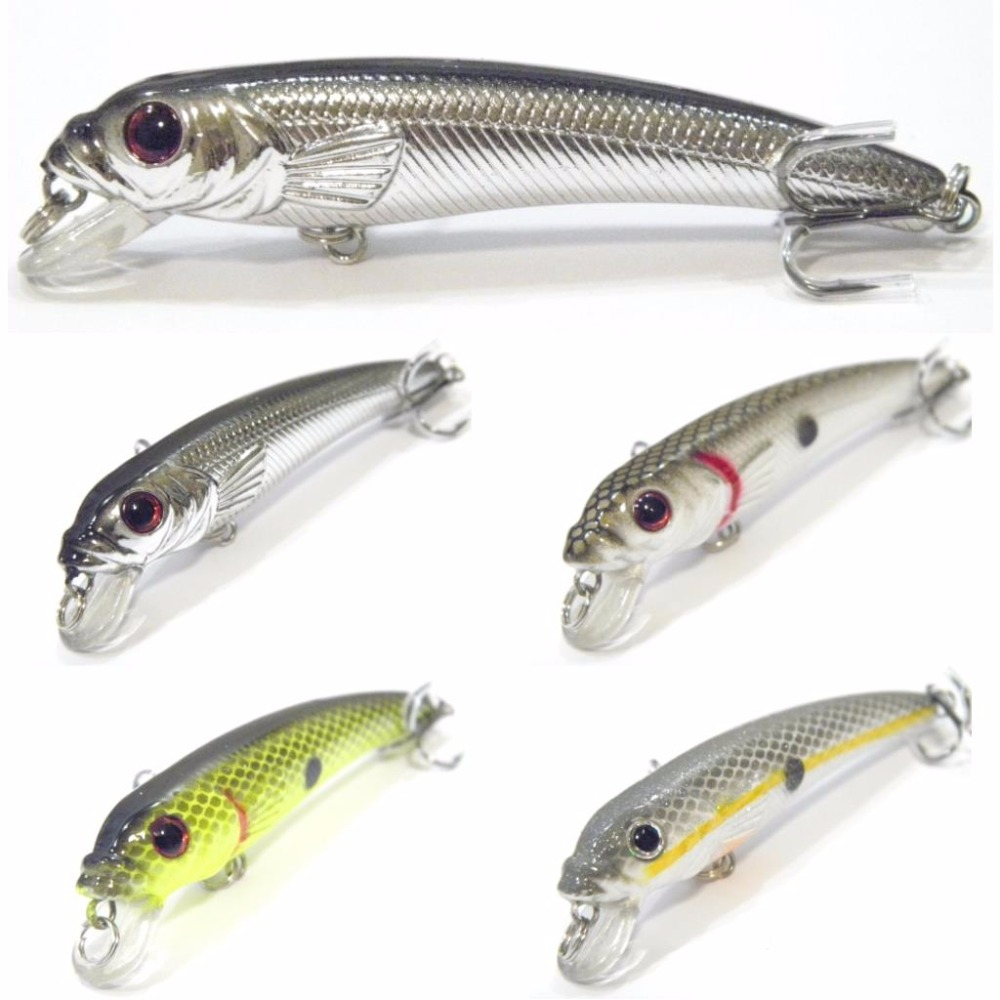 все цены на wLure 8g 8.5cm 4 Colors to Select 0.5 Meter Depth Darting Minnow Tight Action in Water 2 #6 Treble Hooks OPP Packaging M505 онлайн