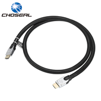 Choseal Q603 HDMI Cable 2 0V 3D 4K 2K Diameter 11 11MM HD Cable Nylon Weave