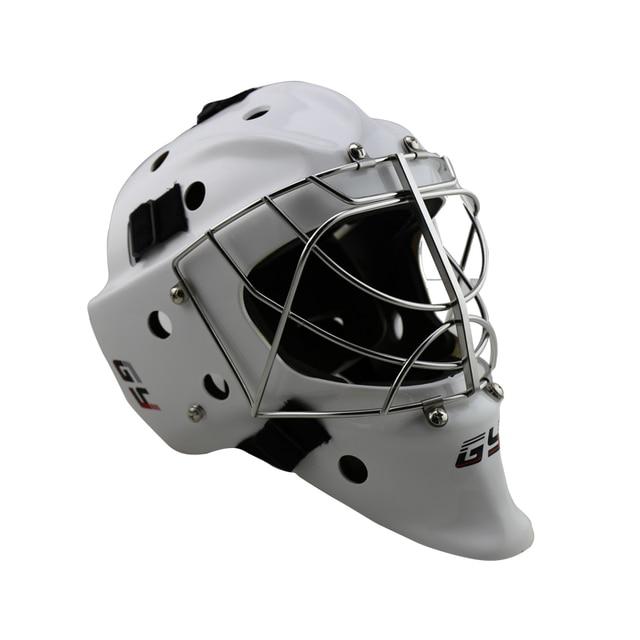 Ce Certificate Professional White Ice Hockey Goalie Mask Goalie