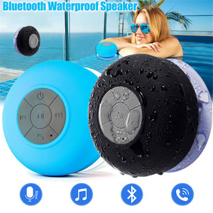 Image 2 - Mambaman Mini Bluetooth Speaker Portable Waterproof Wireless Handsfree Speakers, For Showers, Bathroom, Pool, Car, Beach & Outdo