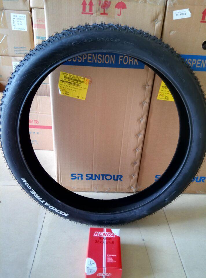 Горячая KENDA Велосипедный Спорт внутренняя труба велосипед шин шины 26*4.0 супер широкий внутренняя трубка черный пляж снег MTB Маутейн велосипе...