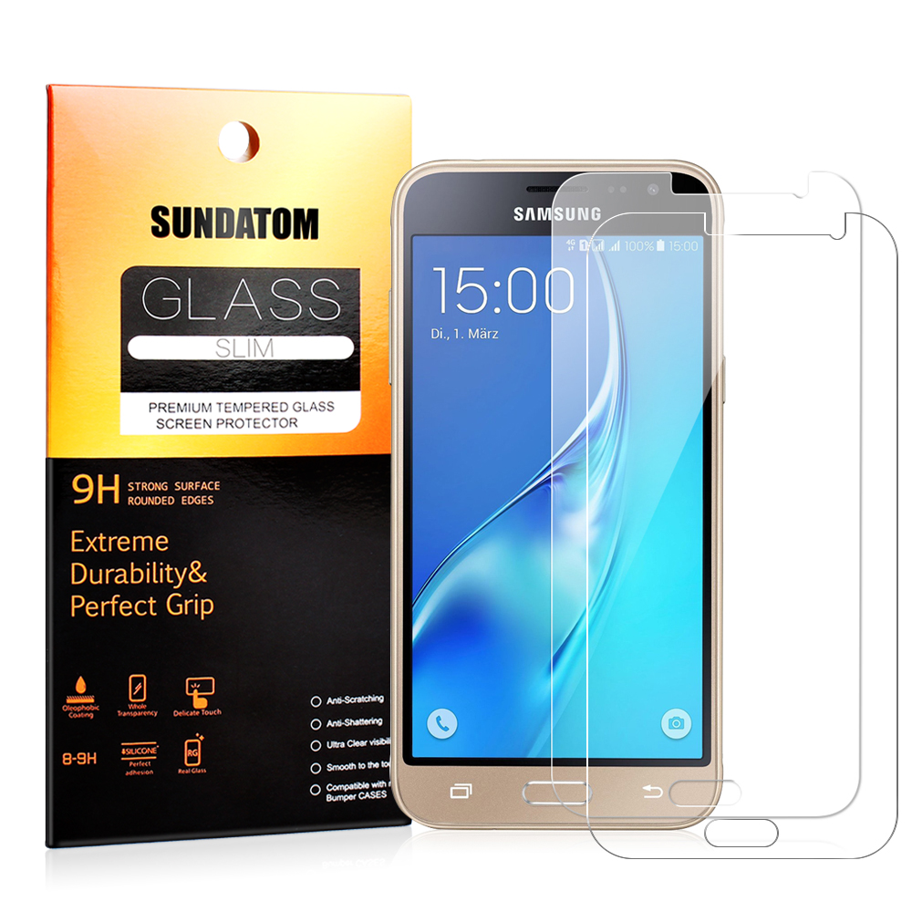 HD Clear Glass Screen Protector for Samsung J3 2016 J320 SM-J320 Tempered Glass