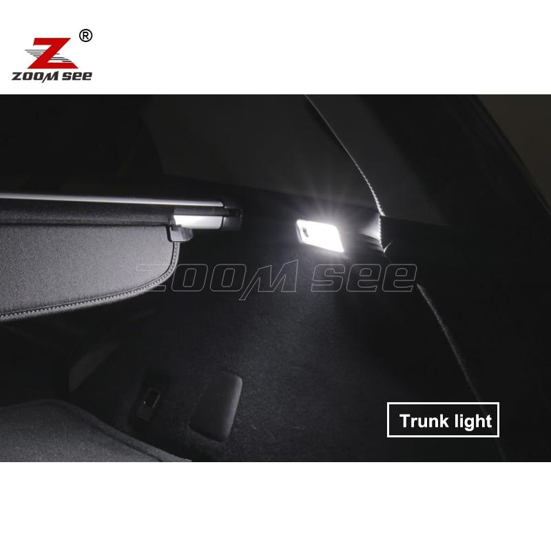 6 шт х идеально Canbus Error Free светодиодный лампы укрыты внутренной сводной чтениt дорожной карты комплект для Fiat Tipo 356 357