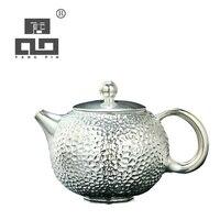 TANGPIN high-end gilt silver ceramic teapot handmade tea pot chinese kung fu tea set drinkware