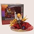 Anime Kizumonogatari Oshino Shinobu Kiss-shot 1/8 Scale PVC Figure Collectible Toy 14cm Retail Box WU443
