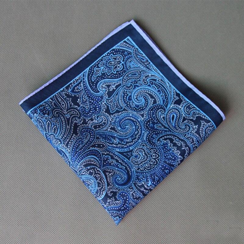 Vintage Ladies Paisley Floral Handkerchiefs Pocket Square Wedding Suits Handkerchief For Mens Pocket Towel Hanky
