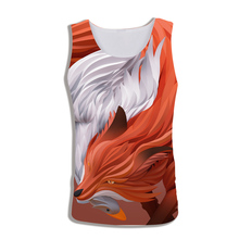 2019 Man Sleeveless Shirt Summer New Vest 3D Printed Animal Dinosa And Skulls Funny Big Size Costuming Unisex Tank Tops S-XXXL