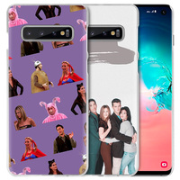 galaxy note Friends TV Show Case for Samsung Galaxy S10 5G S10e S9 S8 M30 M20 M10 J4 J6 Plus J8 2018 Note 8 9 Clear Hard PC Phone Cover Capa (4)