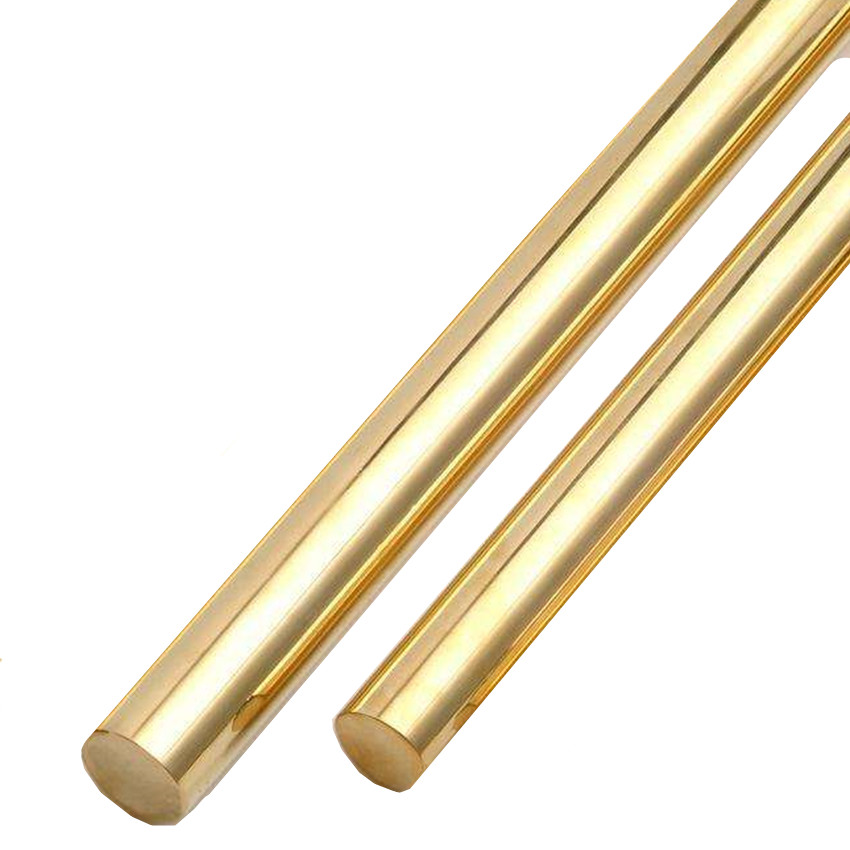 Brass Rods H59 8mm 10mm 15mm 20mm 500 mm Cylinder Industry Experiment Research Cu Alloy Bar 1pcs 500mm Length Brass Bar in Bolts from Home Improvement