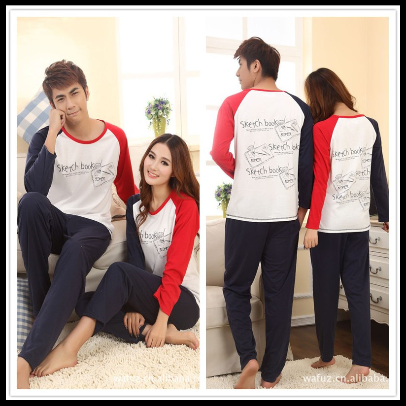 Cute Matching Pajamas For Couples Breeze Clothing