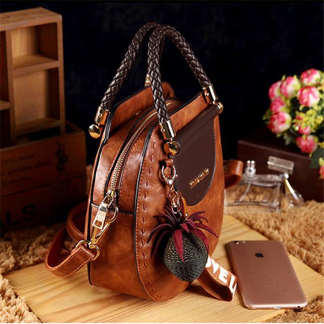 Magic Fish Fashion Women Bag PU Leather Bags For Women 2019 Luxury Handbags Women Bags Designer Crossbody Bags For Women