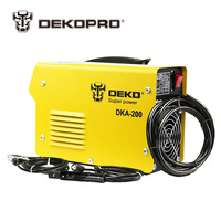 DEKO DKA 120 800W 120A 21S IP AC Arc Electric Welding Machine MMA Welder