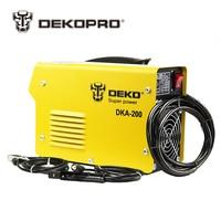 DEKOPRO DKA-120 800 Watt 120A 21 S IP AC Arc Elektrische Schweißgerät MMA Schweißer für Schweißen Arbeits und Elektrische arbeits