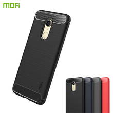 MOFi For Xiaomi Redmi 5 Case Cover Soft Silicon TPU  Back Carbon Fiber Cases Phone Fundas