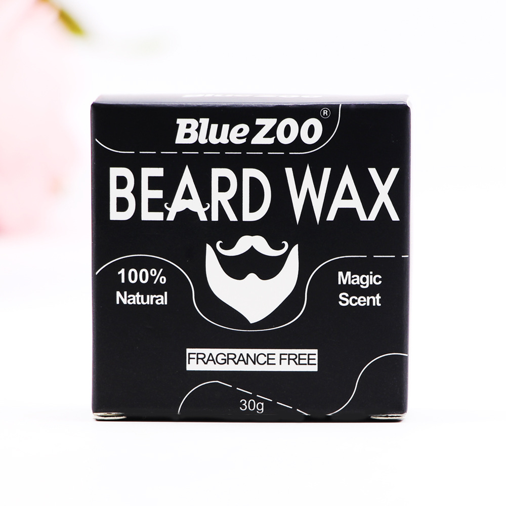 Blue Zoo moisturizing beard cream 10% natural beard balm for mens hair care styling Beeswax Facial Hair Moustache Oils BZ019