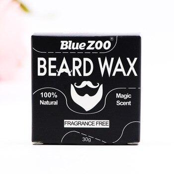 Blue Zoo moisturizing beard cream 10% natural beard balm for mens hair care styling Beeswax Facial Hair Moustache Oils BZ019