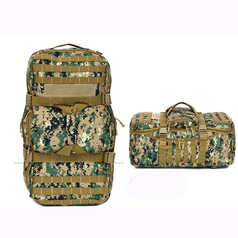 Outdoor Military Bag Army Tactical Backpack Molle Waterproof Camouflage Rucksack Pack Hunting Sports Hiking Camping Shoulder Bag military usmc army tactical molle rifle backpack hiking hunting camping travel rucksack roll pack gun storage fishing rode bag
