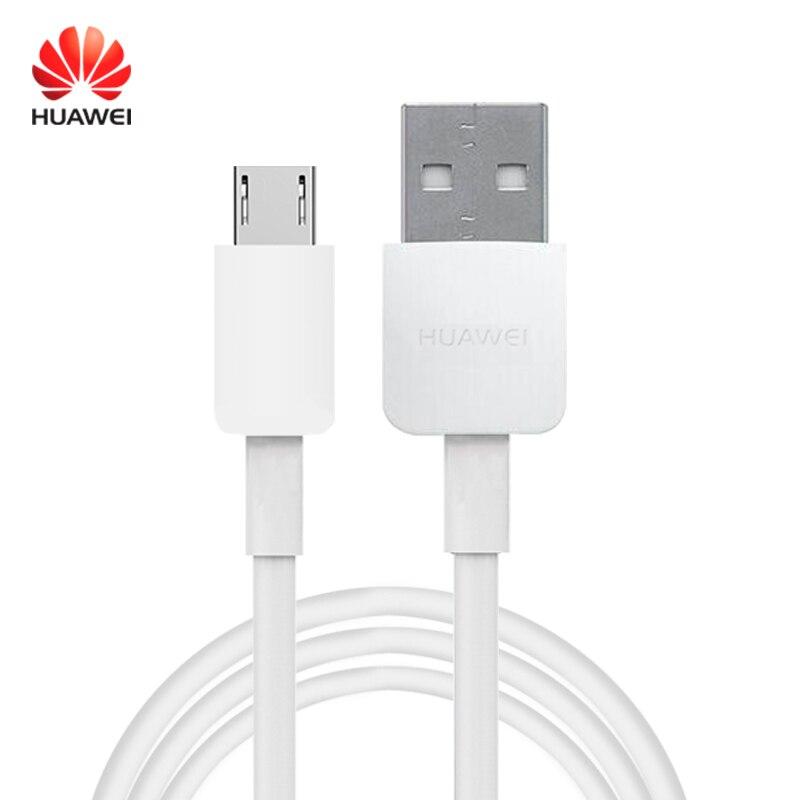 Huawei original carga rápida micro usb cabo conector telefone carregador de dados cabel suporte 5 v/9v2a viagem rápida carregamento supercharge