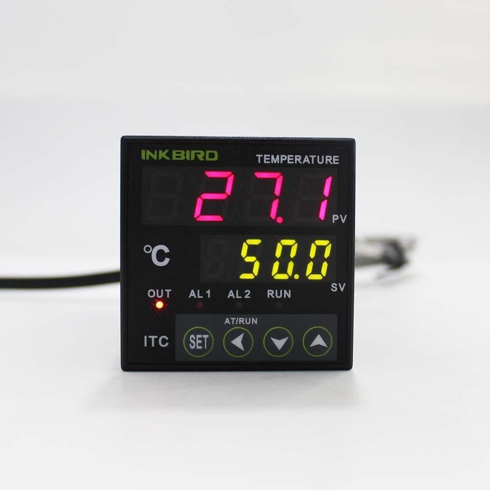Inkbird PID regulátor teploty s Omron relé DIN 1/16 - Měřicí přístroje - Fotografie 5