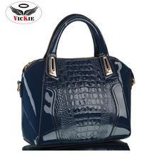 2015 Fashion Alligator Women's Handbags Luxury PU Leather Women Shoulder Bags Crocodile Lady Totes Messenger Bag Bolsos Sac HS79