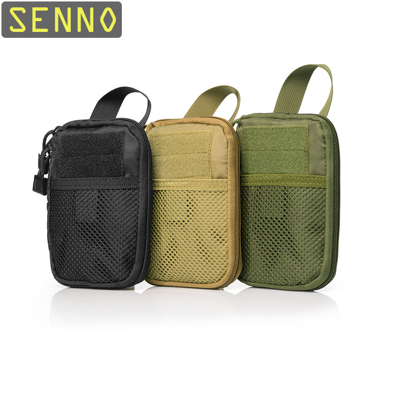 Outdoor Emergency Bag 1000D Nylon Camping Military Tactical Pouch Camouflage Military Bag Camping Hiking Travel First Aid Kits
