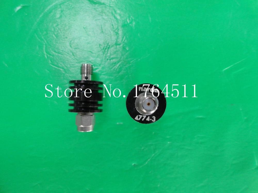 [BELLA] NARDA 4774-3 DC-6GHz 3dB 8W SMA Coaxial Fixed Attenuator  --3PCS/LOT