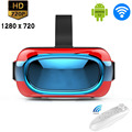 All-In-One Android 3D VR BOX Movie/Games/Video Immersive Glass Panoramic Virtual Reality Google Cardboard 1280*720P WiFi Case
