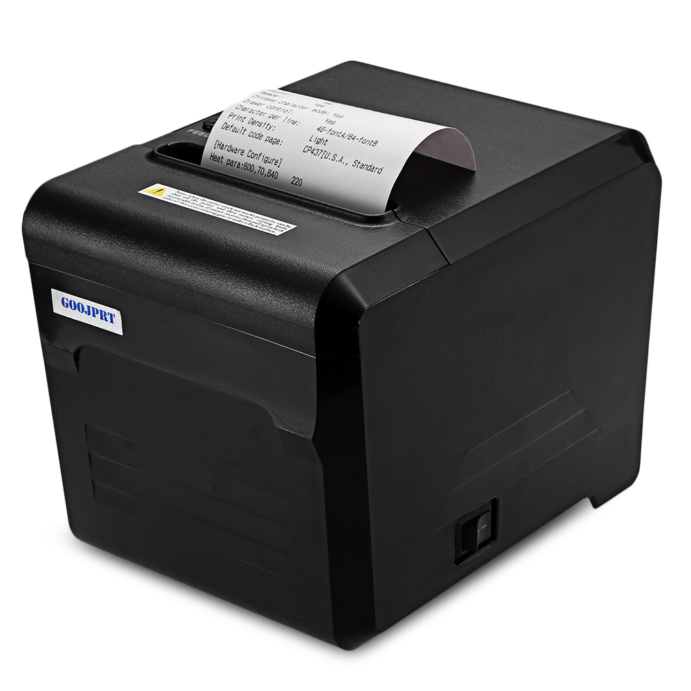 GOOJPRT Printers Receipt-Machine Serial-Port 80mm Bluetooth Android JP80A with USB