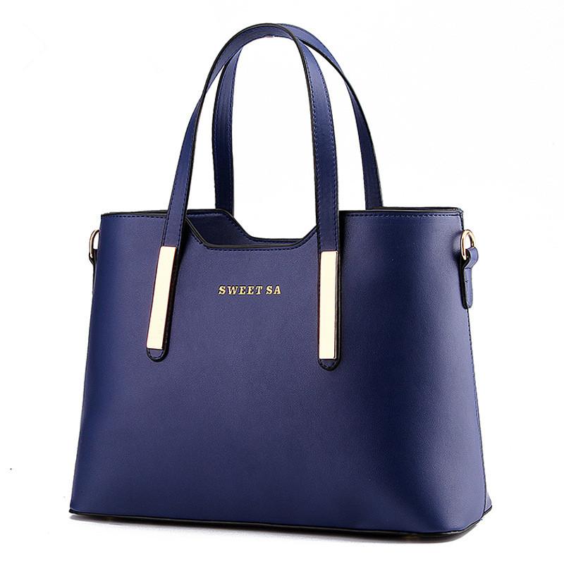 All-Match Fashion Female Package 2016 Winter Elegant  Women Handbag High Quality Leather Shoulder bag Messenger Bag Casual Tote