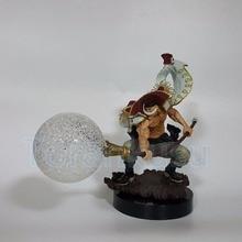 One Piece Action Figure WHITE BEARD Edward Newgate Seismic Shock Fruit Led Light Toy Anime Model Doll DIY134