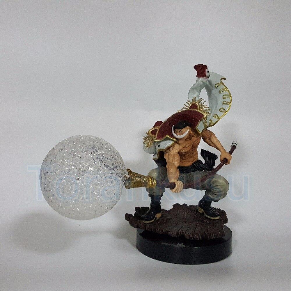 Un Action Figure Pezzo BARBA BIANCA Edward Newgate Scossa Sismica frutta Led Light Toy Anime One Piece Edward Modello Doll DIY134