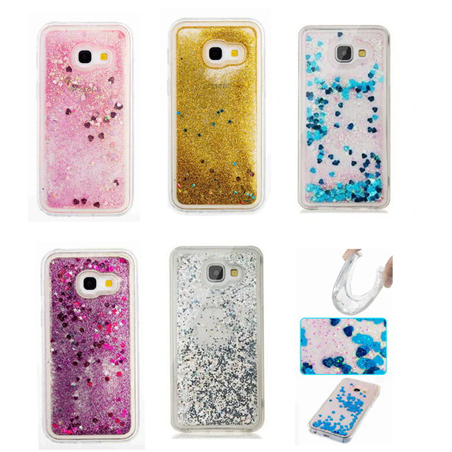 huge selection of dd381 62fde US $3.34 7% OFF|for Samsung Galaxy A3 2017 A320 Glitter Quicksand Liquid  Soft Phone Case Cover for Samsung Galaxy A5 2017 Case Capa Coque Fundas-in  ...