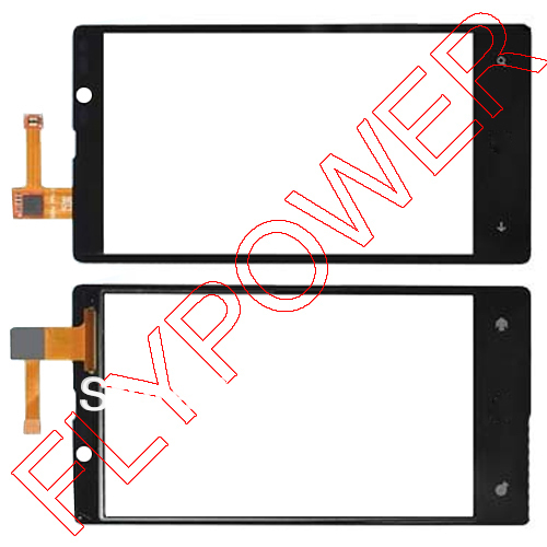 100% warranty Touch Screen Digitizer for Nokia Lumia 820 free shpping ;