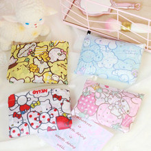 Kawaii Melody Twin Stars Pudding Cinnamoroll Reusable Shopping Bag Eco Friendly Supermarket Foldable Bag Travel Bags Grocery Bag(China)