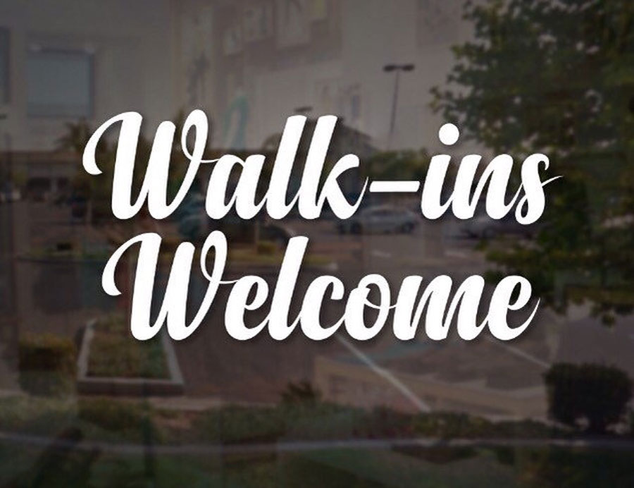cheap sale glass vinyl sticker Walk-ins Welcome quotes Decal Elegant Sign Salon Window Door Fancy Script Business Sign BS02 end table