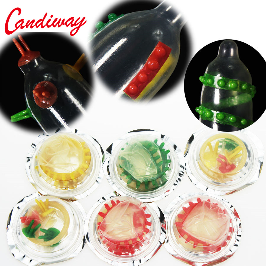 3pcs Thorn Condom Sleeve Full Cover Penis Cage Delay Impotence Extensions Condoms G Point Masturbation Sex Toy For Men Lots